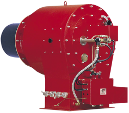 AMR / AMR-O series is the duoblock with flame register carbon steel General Bruciatori burners Family. AMR / AMR-O burners series are compliant with EU safety rules (CE Standards) and build according to EN ISO 9001:2008 Quality System.  AMR / AMR-O is designed to fits the installation standards on most of hot water, steam, diathermic oil boilers and others application.